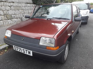 1986 Renault 5 1.4 GTS Panache For Sale