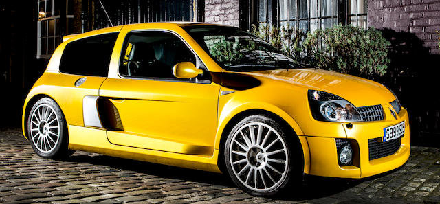 2006 RENAULT CLIO V6 255 SPORT For Sale by Auction