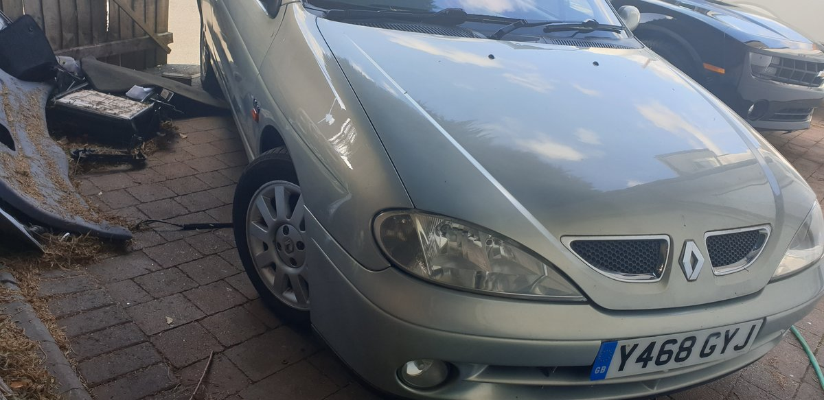 2001 Renault Megane convertible For Sale (picture 4 of 4)