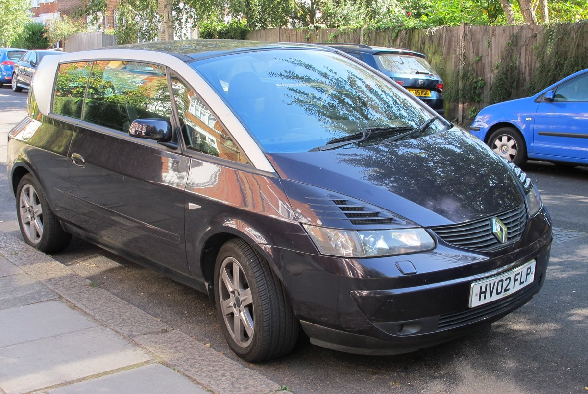 2002 Renault Avantime Drives great,new MOT,ULEZfriendly For Sale (picture 1 of 6)