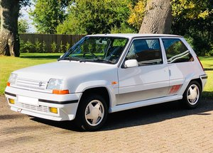 1991 Renault 5 GT Turbo Phase II, Low Mileage, (UK RHD) For Sale