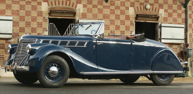 1939 Renault viva grand sport convertible For Sale (picture 1 of 4)