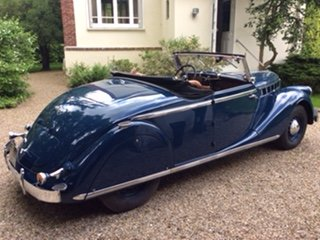 1939 Renault viva grand sport convertible For Sale (picture 2 of 4)