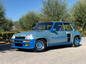 1981 Renault 5 Turbo                   For Sale by Auction