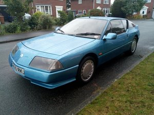1989 Renault Alpine GTA V6 Turbo One Previous Owner