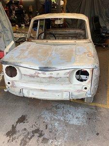 1964 Renault 8 Gordini shape 1108cc