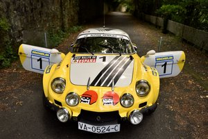 1974 Ex-Works Alpine A110 1800 Gr.4 FASA For Sale