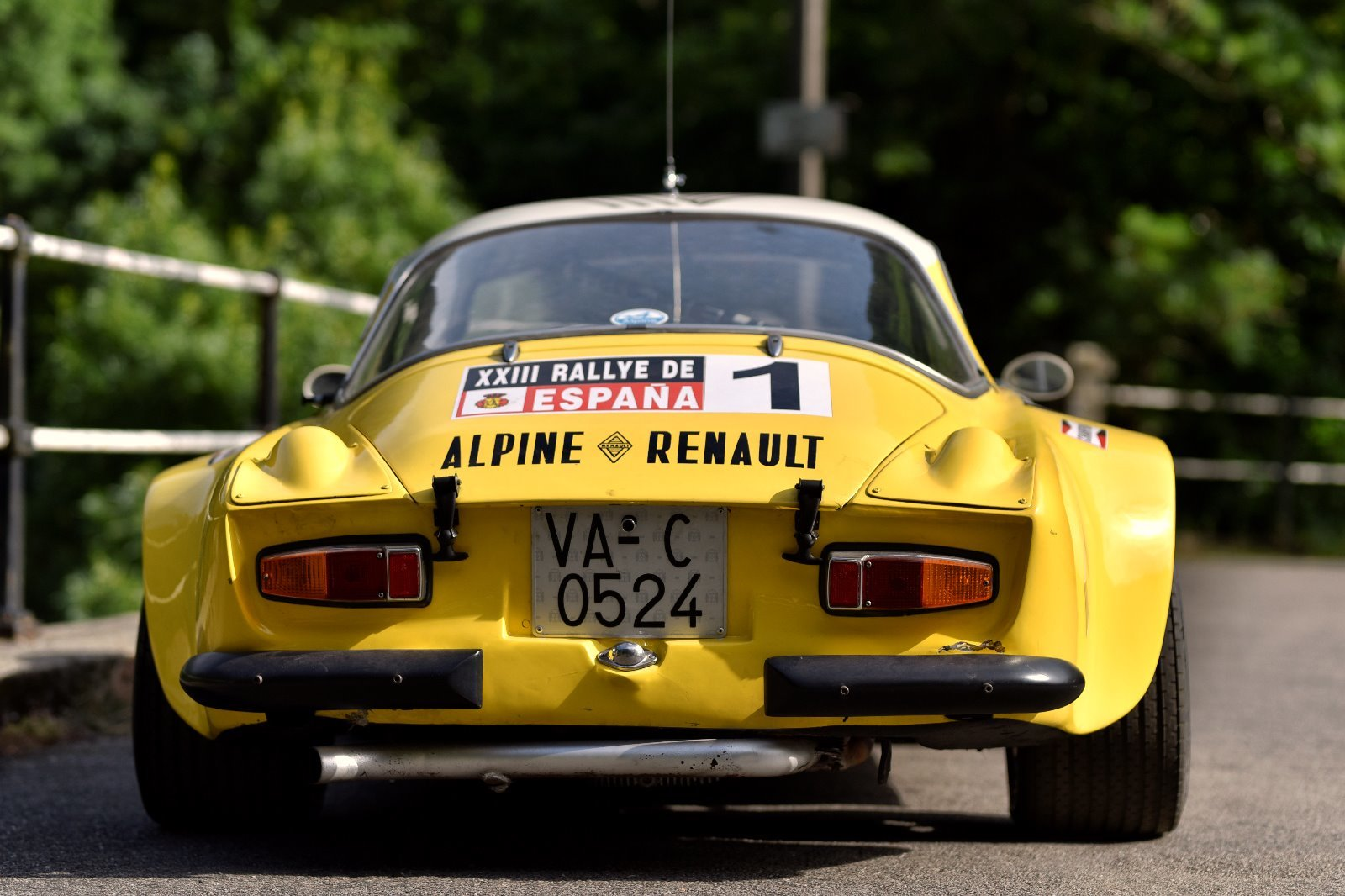 1974 Ex-Works Alpine A110 1800 Gr.4 FASA For Sale (picture 2 of 6)