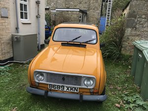 1985 Renault 4 recently renovated  Yellow Iconic  For Sale