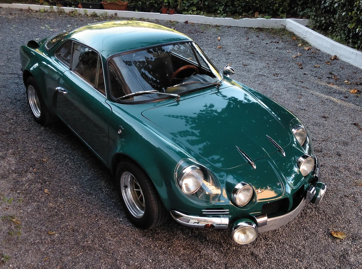 1972 Renault Alpine A 110 fasa 1.300 For Sale (picture 2 of 6)