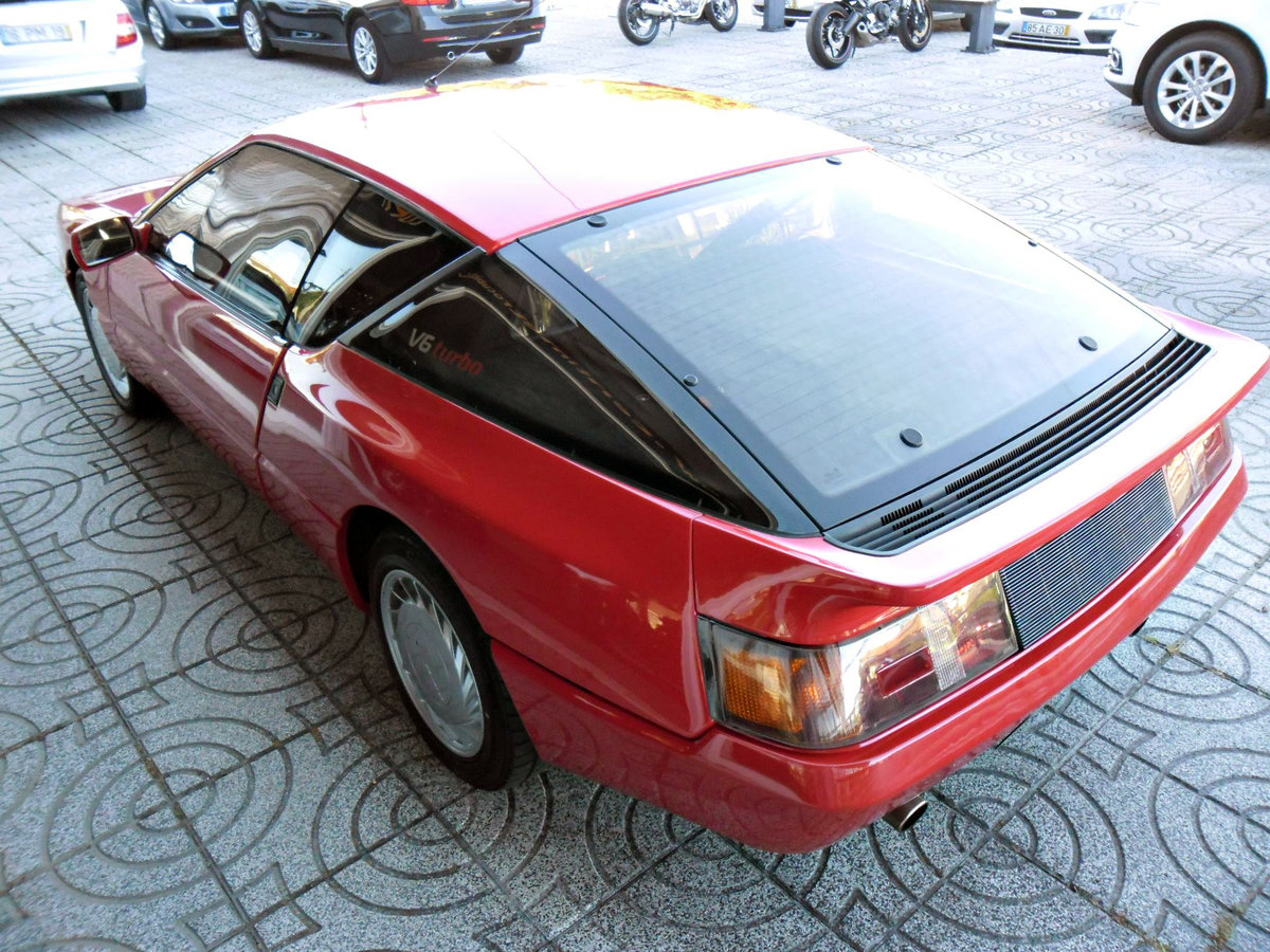 1987 Renault Alpine A610 V6 Turbo For Sale (picture 3 of 6)
