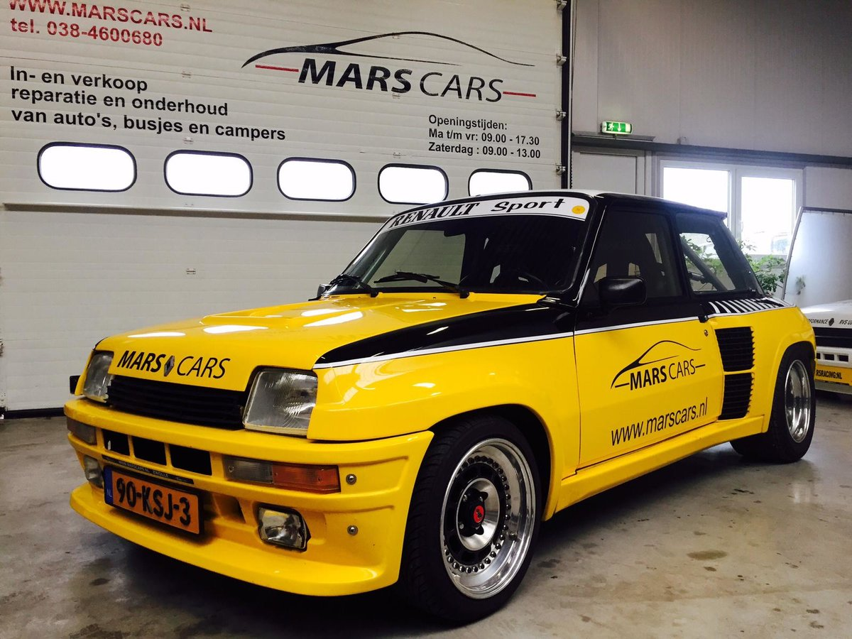 1983 Renault 5 Turbo 2 Restored  For Sale (picture 1 of 6)