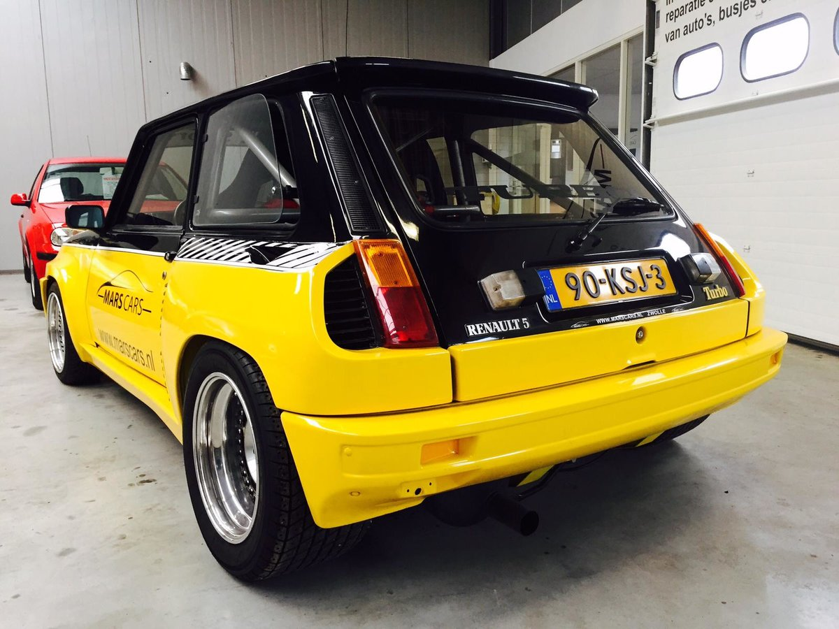 1983 Renault 5 Turbo 2 Restored  For Sale (picture 2 of 6)