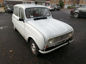 1985 Renault 4 GTL 'Brigitte'  For Sale