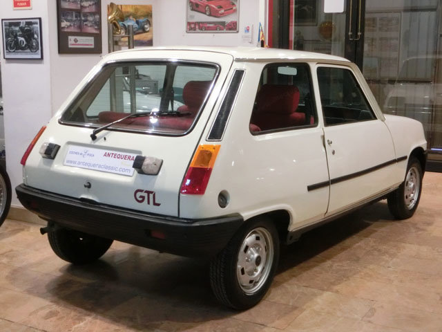RENAULT R5 GTL CONFORT - 1981 For Sale (picture 2 of 6)