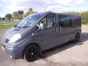 2013 Renault trafic lwb crew cab sport For Sale