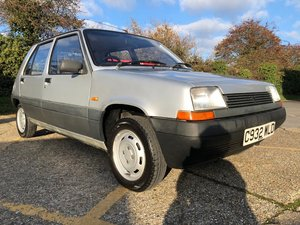 1986 Renault 5 TL. 1.1. Only 56k. 1 Previous owner