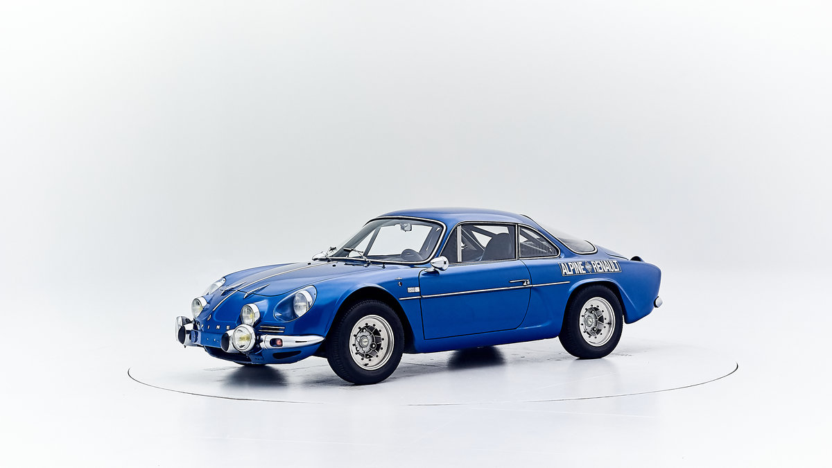 1969 RENAULT ALPINE A110 1600 For Sale by Auction (picture 1 of 9)