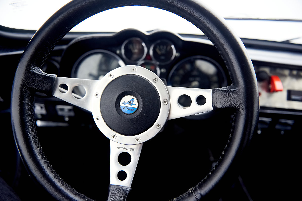 1969 RENAULT ALPINE A110 1600 For Sale by Auction (picture 6 of 9)