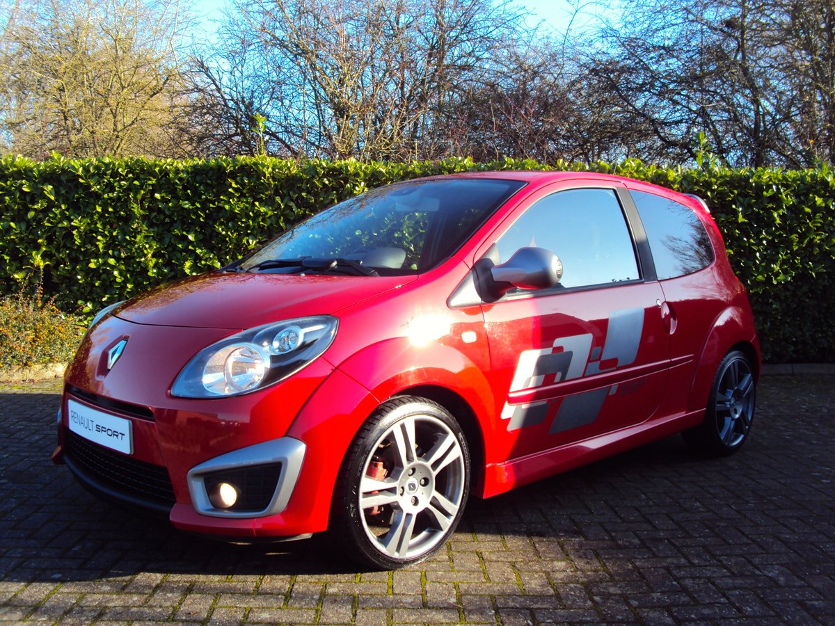 2009 A Lovely Low Mileage Renaultsport Twingo 1.6i 133 CUP PACK For Sale (picture 1 of 6)