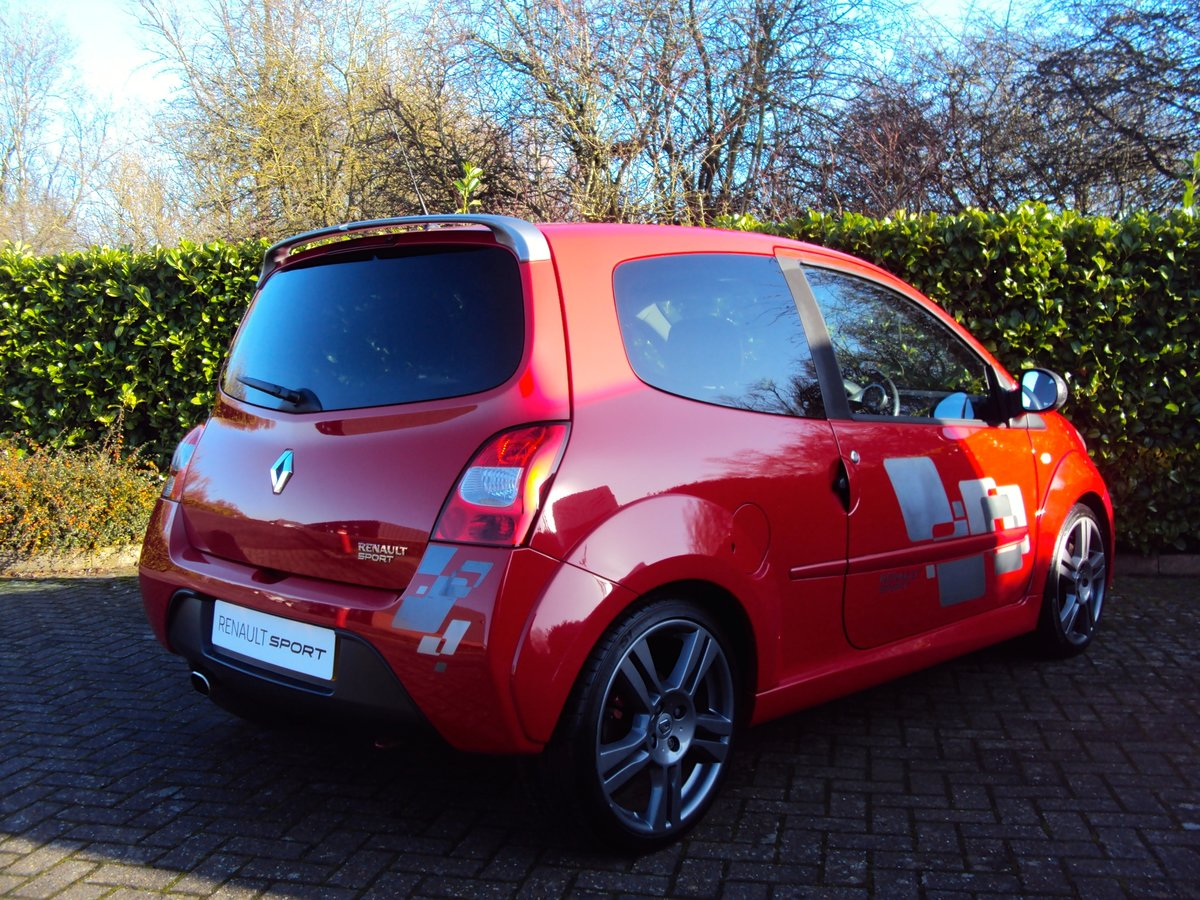 2009 A Lovely Low Mileage Renaultsport Twingo 1.6i 133 CUP PACK For Sale (picture 3 of 6)