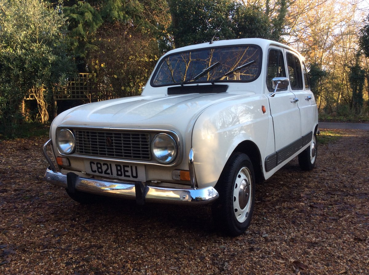 1985 Renault 4 gtl For Sale (picture 1 of 6)