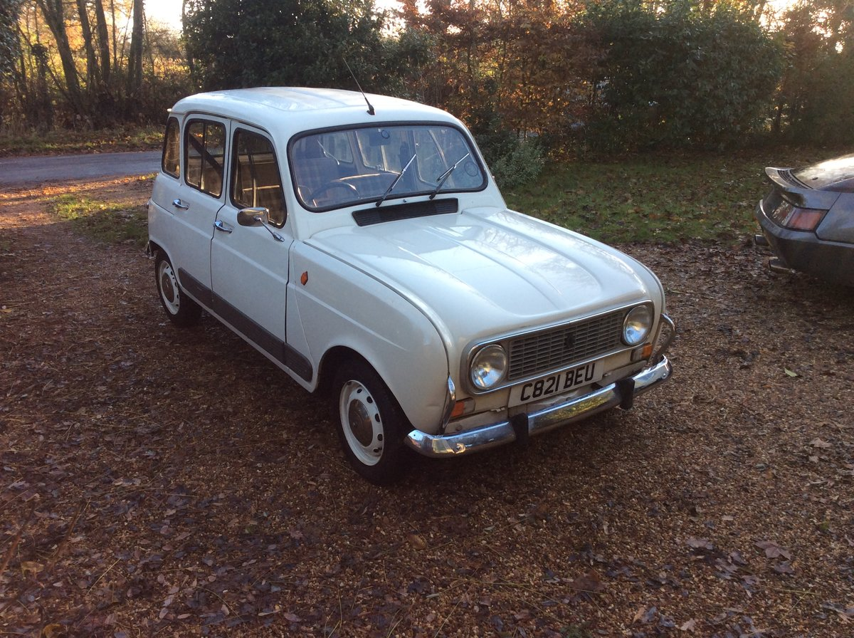 1985 Renault 4 gtl For Sale (picture 2 of 6)