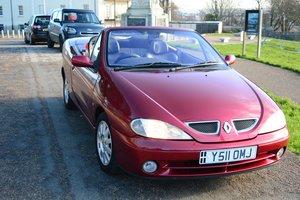 2001 Megane Coupe Cabriolet 1.6 16v Privilege+