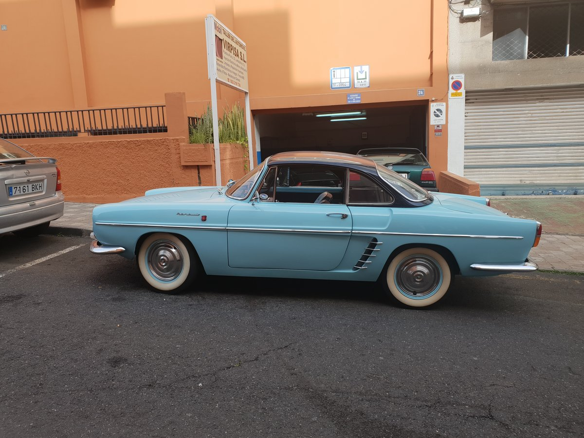 1961 Renault Floride Cabriolet Hard top S1 For Sale (picture 3 of 6)