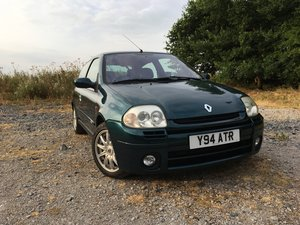 2001 Renaultsport Clio 172 Exclusive (One of 172) For Sale