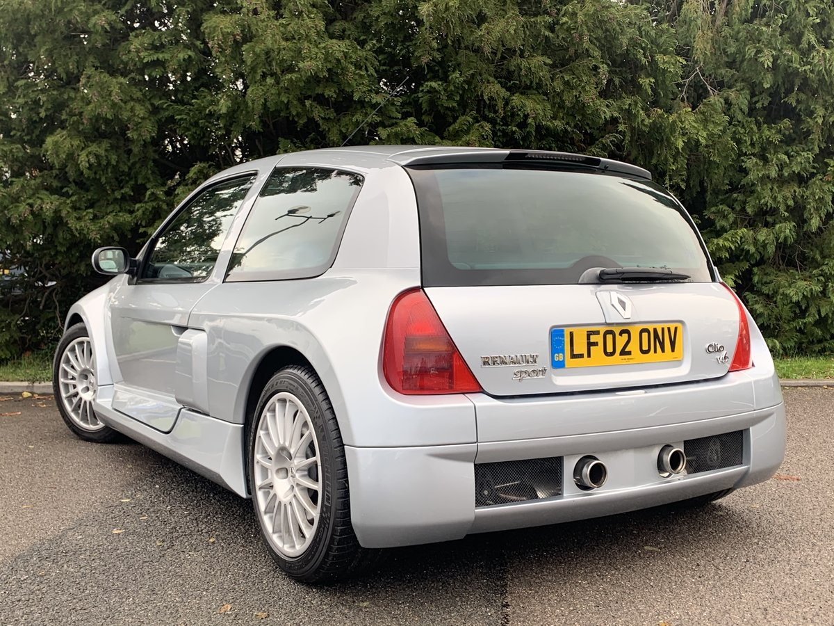 2002 Renault Clio V6 Phase one - Very rare car  For Sale (picture 4 of 6)