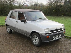 1982 Renault 5 Automatic 1300 in Silver - last one! For Sale