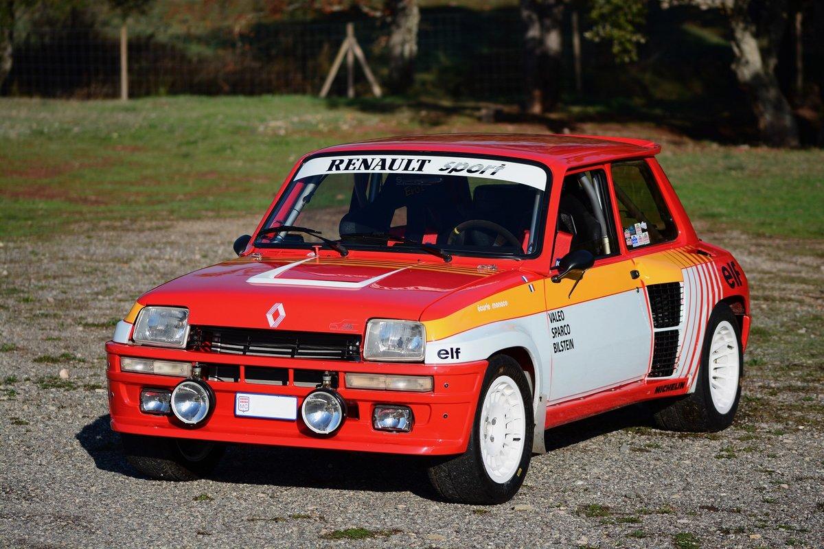 1980 RENAULT R5 TURBO 1 avec Palmarès For Sale (picture 2 of 6)