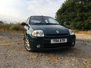 2001 Renault sport Clio 172 Exclusive (One of 172)
