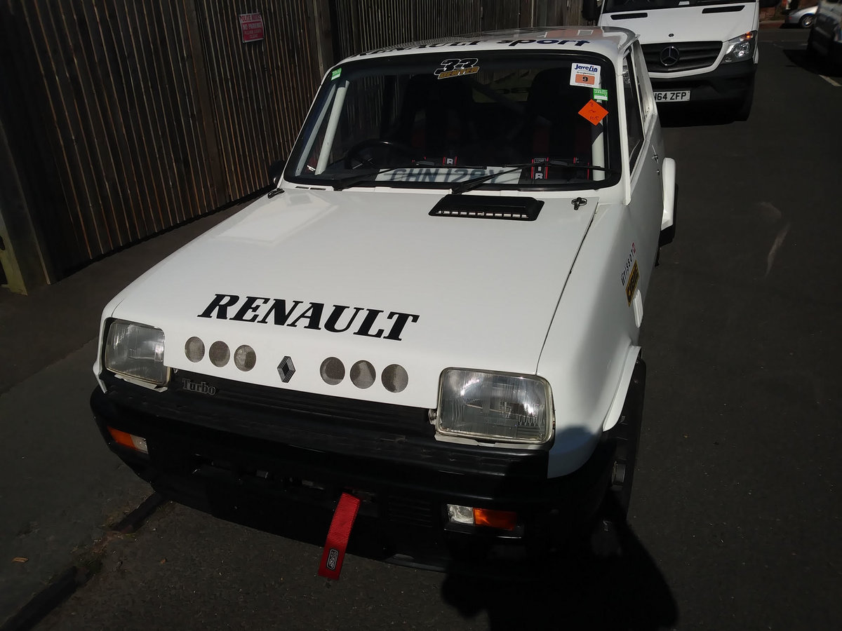 1983 Renault 5 turbo ,alpine ,gordini  For Sale (picture 1 of 6)