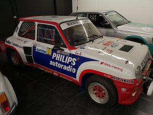 1981 R5 TURBO 1 de course