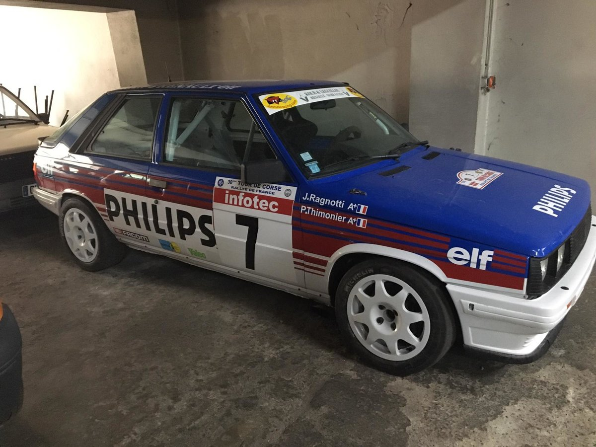 1984 R 11 turbo group – phase 1 For Sale (picture 1 of 6)