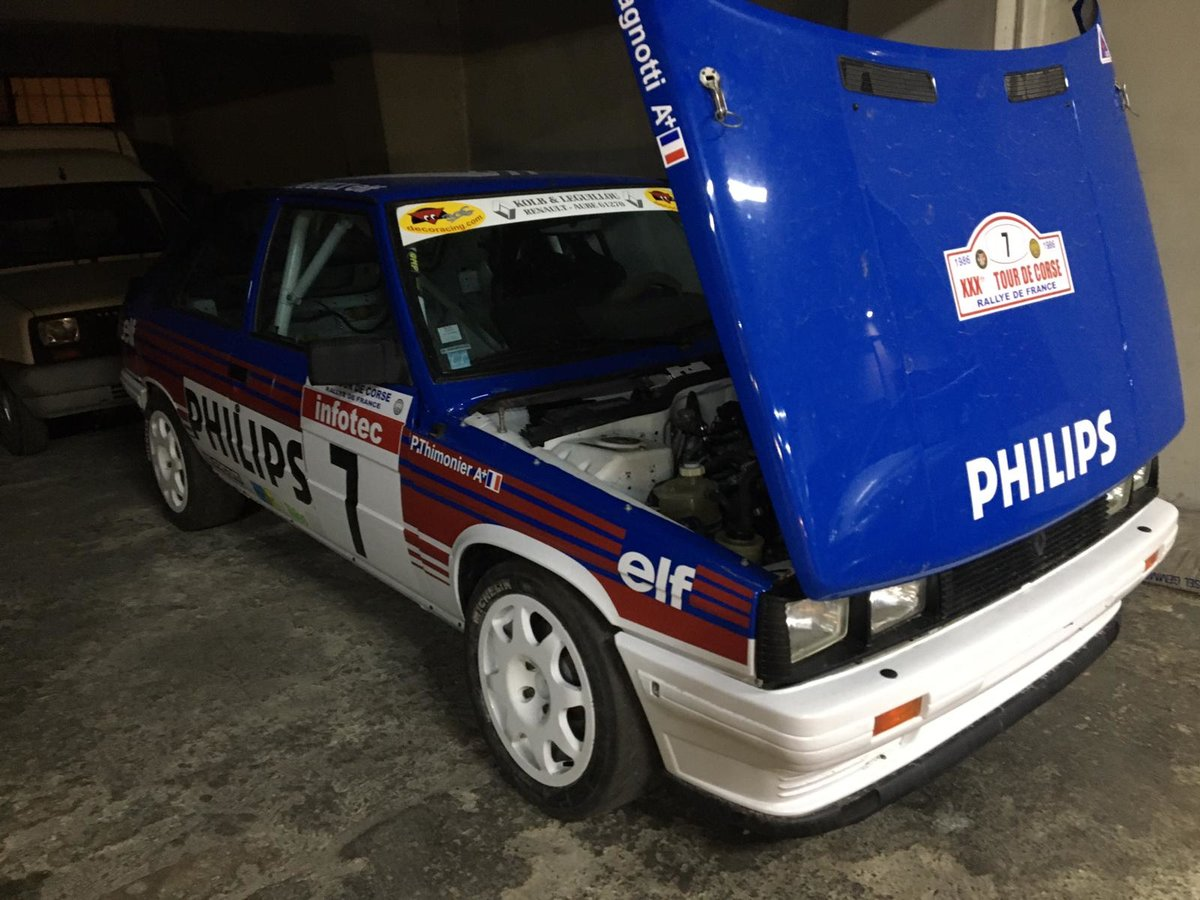 1984 R 11 turbo group – phase 1 For Sale (picture 4 of 6)