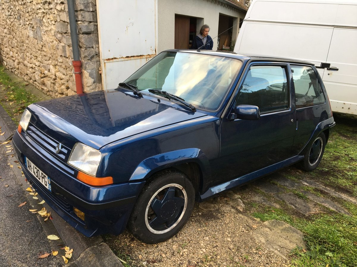 1990 RENAULT SUPER 5 GT TURBO Alain Oreille For Sale (picture 1 of 6)