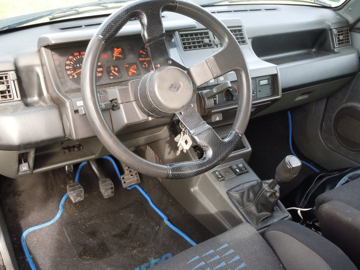 1990 RENAULT SUPER 5 GT TURBO Alain Oreille For Sale (picture 2 of 6)