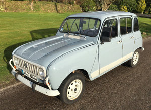 1989 Renault 4 LHD for Sale SOLD