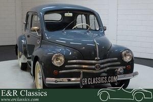 Renault 4CV Saloon 1958 restored