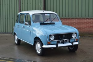 1985 Renault 4TL For Sale by Auction