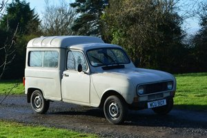 1982 Renault 4 Fourgonette For Sale by Auction