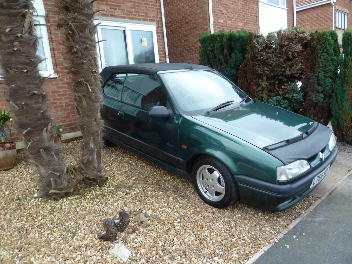 1994 Renault 19 cabriolet 1.8 8v  goodwood green SOLD (picture 3 of 6)