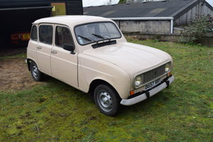 1984 Renault 4 TL For Sale by Auction