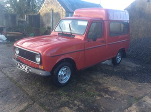 1989 Renault 4f6.  #free delivery to your door #