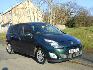2010 Renault Grand Scenic Privilege 1.5 DCI Tom Tom 7 Seat SOLD