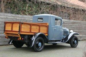 Renault Vivaquatre Plateau (Pick Up), 1933 SOLD