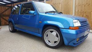 1987 Renault 5 GT turbo Mint For Sale